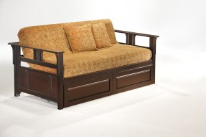 Teddy R Daybed w Cinnamon Storage Drawer CHO